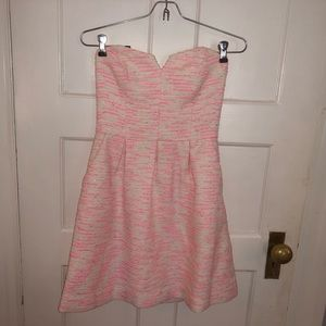 Strapless dress- worn once!